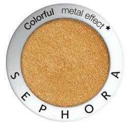Complètement métallisé avec les Colorful metal effect Sephora collection