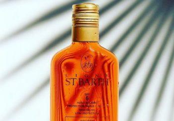 L'huile Solaire au Roucou de ST BARTH